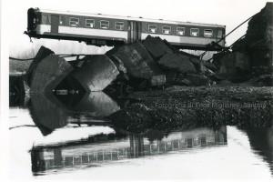 Ponte crollato di Buronzo