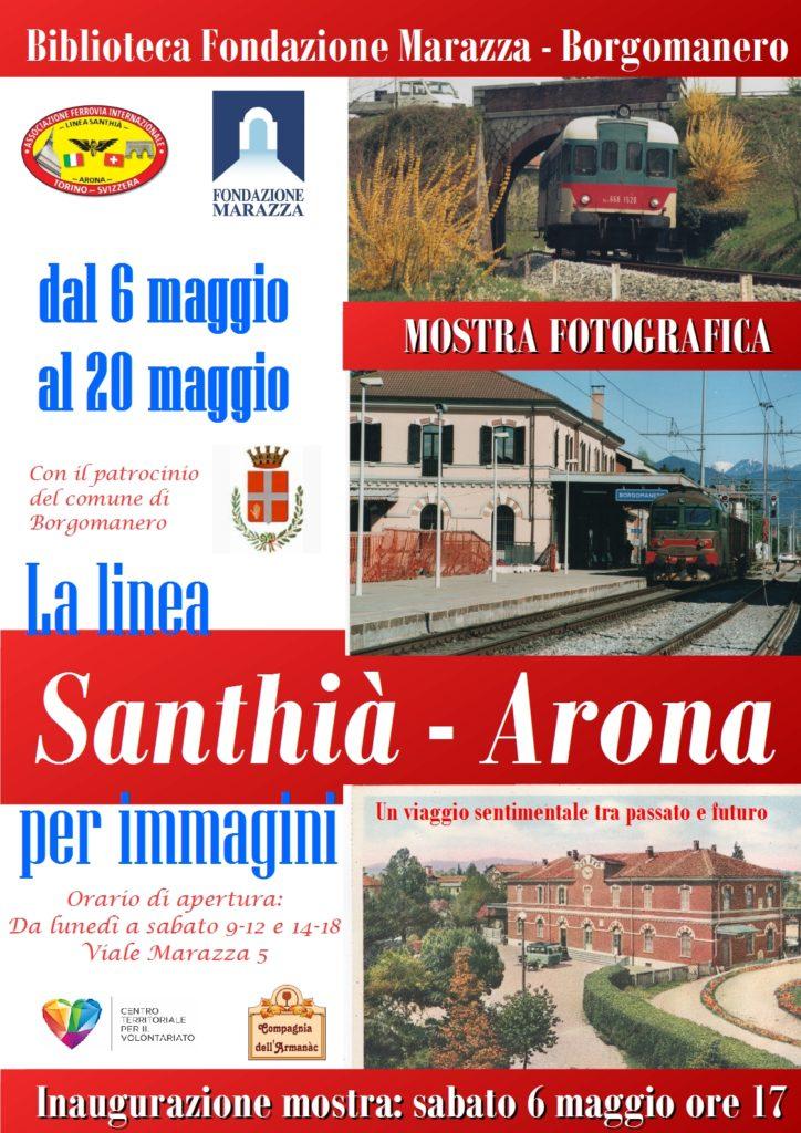 Locandina Mostra Fotografica Borgomanero